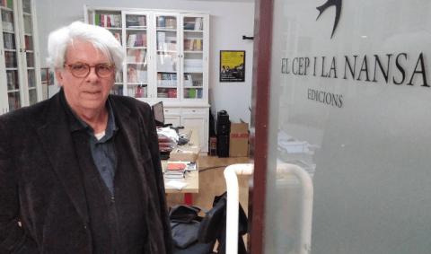 Francesc Mestres, editor d'El Cep i la Nansa