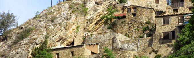 Panoràmica del Casal dels Voltors i la Torre de Tamúrcia