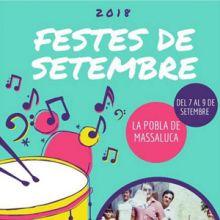 Festes Majors - La Pobla de Massaluca 2018