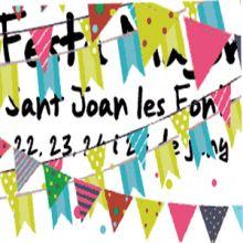 Sant Joan de les Fonts, festes majors-2018,