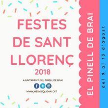 Festes de Sant Llorenç - El Pinell de Brai 2018