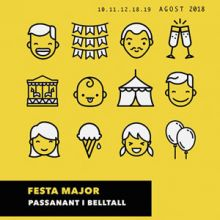 Festa Major de Belltall, 2018