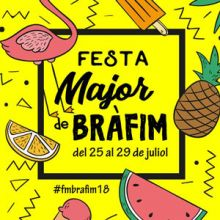 Festa Major de Bràfim, 2018