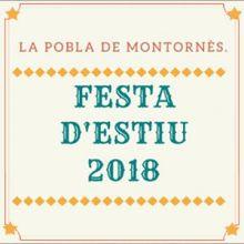 Festa Major, La Pobla de Montornès, 2018