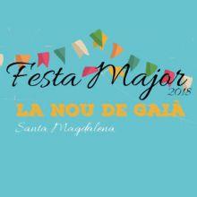 Festa Major La Nou de Gaià, 2018