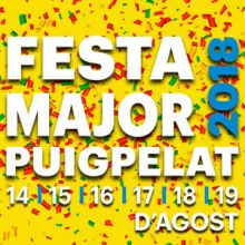 Festa Major, Puigpelat, Camp de Tarragona, 2018