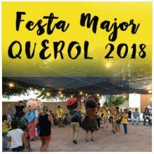 Festa Major de Querol, 2018