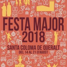 Festa Major de Santa Coloma de Queralt, 2018