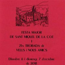 Sant Miquel de la Cot, festa major,
