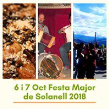 Fragment del cartell de la Festa Major de Solanell