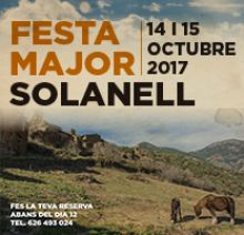 Cartell de la Festa Major de Solanell