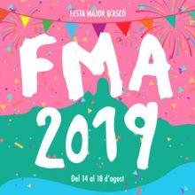 Festa major d'Ascó, 2019