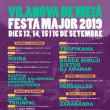 Festa Major - Vilanova de Meià 2019