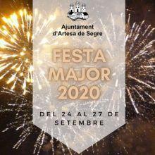 Festa Major d'Artesa de Segre, 2020