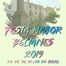Festa Major de Belianes, 2019