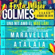 Festa Major de Golmés, 2019