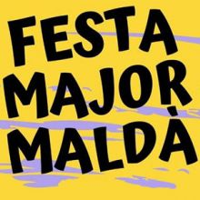 Festa Major de Maldà, 2019