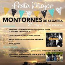 Festa Major de Montornès de Segarra, 2019