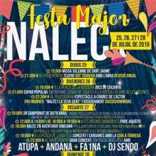 Festa Major de Nalec, 2019
