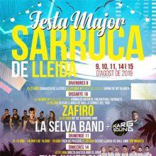 Festa Major de Sarroca de Lleida, 2019