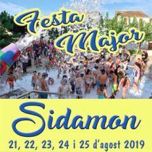 Festa Major de Sidamon, 2019