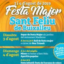 Festa major de Sant Feliu de Buixalleu, 2019
