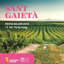 Festa Major de Sant Gaietà a Aitona, 2019