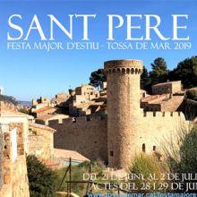 Festes Majors de Sant Pere de Tossa de Mar 2019