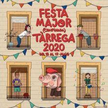 Festa Major Confinada de Tàrrega, 2020