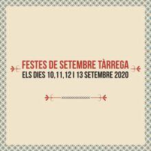 Festes de Setembre de Tàrrega, 2020