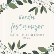 Festa Major de Verdú, 2020