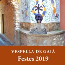 Festa Major a Vespella de Gaià, 2019