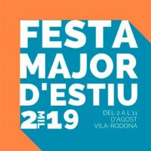 Festa major de Vila-rodona, 2019
