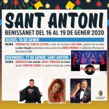Festes Majors de Sant Antoni - Benissanet 2020