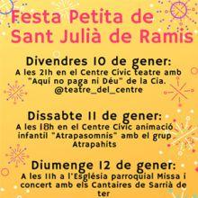 Festa Petita de Sant Julià de Ramis, 2020
