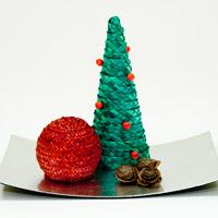 Decoració nadalenca amb pauma