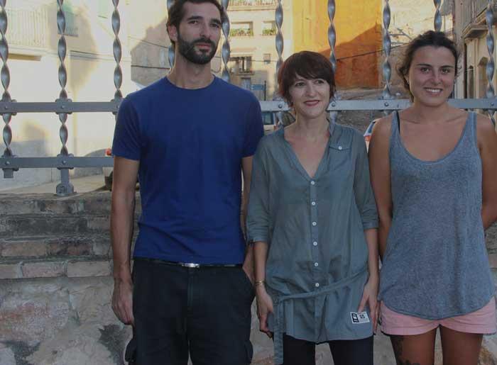 Massimiliano Moro, Pili Lanau i Lourdes Santandreu