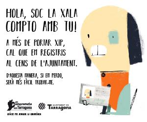 Compto amb Tu - Registre Gossos - Em Comprometo amb Tarragona