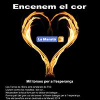 'Encenem el cor' per la Marató de TV3