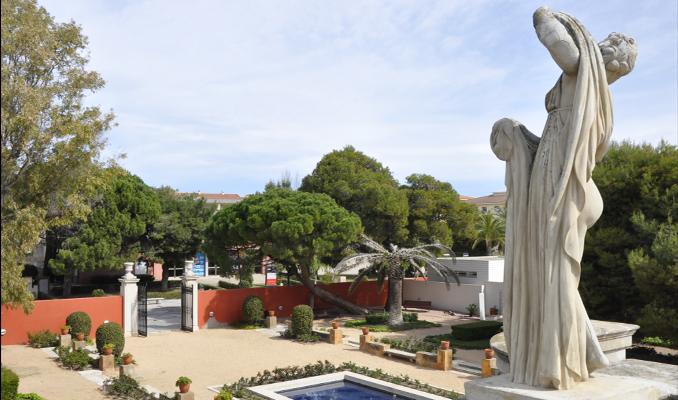 Els jardins de la Vil·la Casals