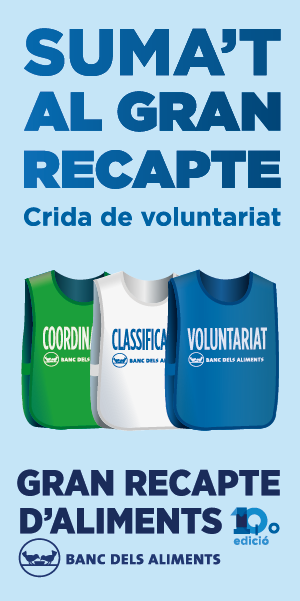 Voluntaris Gran Recapte 2018