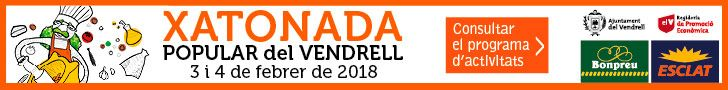 Xatonada Popular del Vendrell 2018