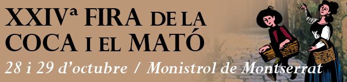 XXIV Fira de la Coca i el Mató de Mositrol de Montserrat